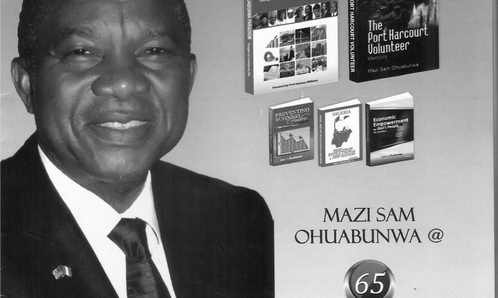 Sam Ohuabaunwa turns 65, launches two books