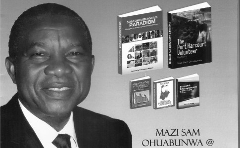 Sam Ohuabaunwa turns 65, launches two books