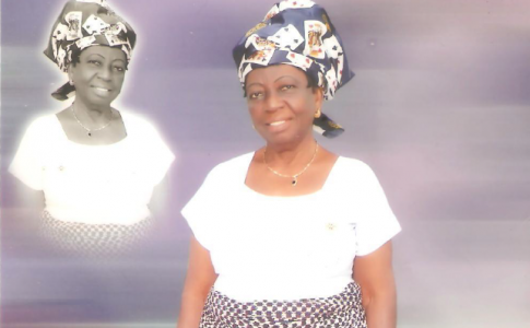 Garlands for Madam Mercy Chukwu Okoro at 81