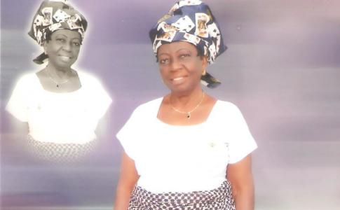 Garlands for Madam Mercy Chukwu Okoro at 81