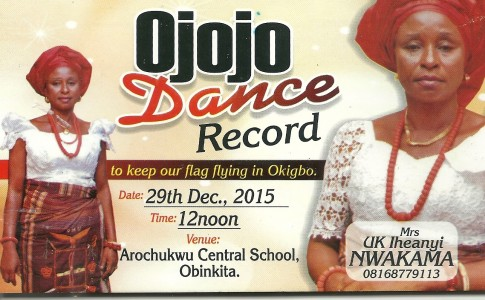 Ojojo dance record for launch December 29th